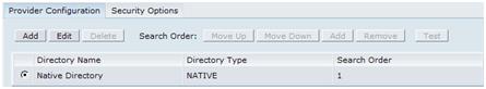 Provider Configuration